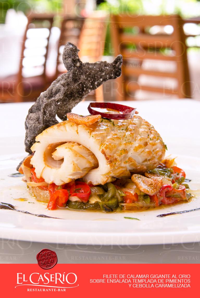 Pescados y mariscos restaurante el caser o - Platos gourmet con pescado ...